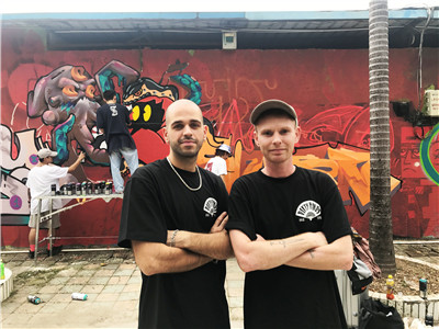 Expats building graffiti community in Longgang