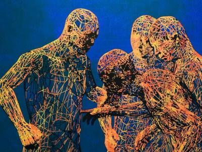 Artist creates bewitching virtual world
