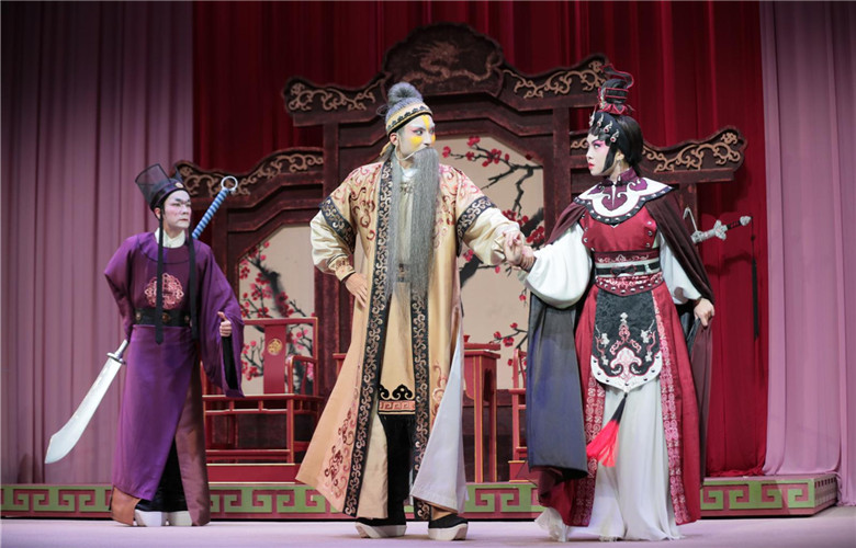 "Canton Opera ""Pavilion of a Hundred Flowers"""