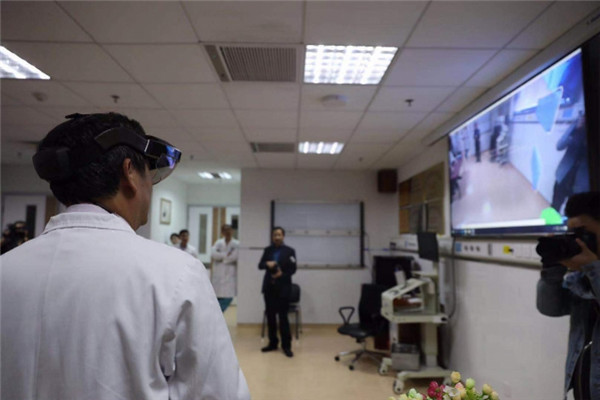 Hospital adopts 5G technology to aid in surgery