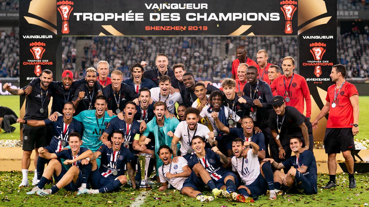 PSG wins 9th Tropheé des Champions in SZ