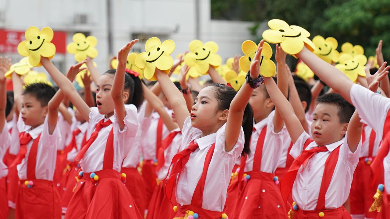 SZ primary school marks CPC's birthday