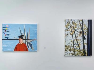 Contemporary artworks by Gong Jian, Guo Hongwei