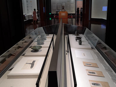 Epigraphy scholar's collection on display